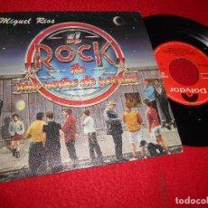 Dischi in vinile: MIGUEL RIOS EL ROCK DE UNA NOCHE DE VERANO/RETRATO ROBOT 7'' SINGLE 1983 POLYDOR GRANADA. Lote 118435279