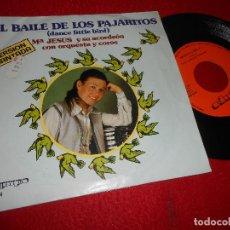 Discos de vinilo: MARIA JESUS Y SU ACORDEON EL BAILE DE LOS PAJARITOS/BENIDORM,BENIDORM 7'' SINGLE 1981 OLYMPO. Lote 118435407
