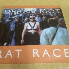 Discos de vinilo: URBAN RIOT - RAT RACE. Lote 118435504