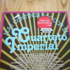 Discos de vinilo: DISCO VINILO LPS. MÁS CONTINUADOS CON EL CUARTETO IMPERIAL. . Lote 118450723
