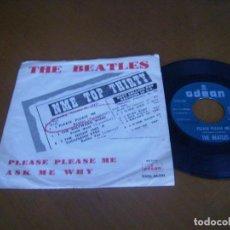 Discos de vinilo: THE BEATLES : PLEASE PLEASE ME +1 SU ULTRARARO 45 SPAIN 1962 100% ORIGINAL. Lote 118453859