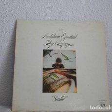 Discos de vinilo: FELIPE CAMPUZANO-LP ANDALUCIA ESPIRITUAL VOL 2 SEVILLA-PORTADA DOBLE. Lote 118455359