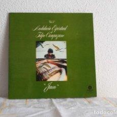 Discos de vinilo: FELIPE CAMPUZANO-LP ANDALUCIA ESPIRITUAL VOL 3-JAEN-PORTADA DOBLE. Lote 118457119