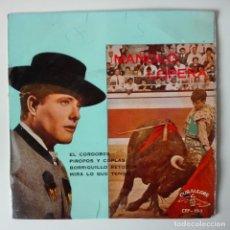 Discos de vinilo: MANOLO LOPERA EL CORDOBÉS / PIROPOS + 2 EP CUBALEGRE 1962 . Lote 118463099