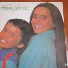 Discos de vinilo: ANTONIO Y CARMEN - ENTRE COCODRILOS. Lote 118464927