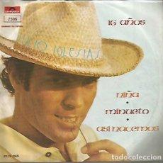 Discos de vinilo: JULIO IGLESIAS EP SELLO POLYDOR EDITADO EN MEXICO AÑO 1973. Lote 118467735
