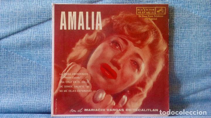 AMALIA MENDOZA - LA VIUDA ABANDONADA + 3 - RCA VICTOR MKE-311 RARISIMA EDICION DE MEXICO (Música - Discos de Vinilo - EPs - Grupos y Solistas de latinoamérica)