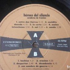 Discos de vinilo: HÉROES DEL SILENCIO. Lote 118474359