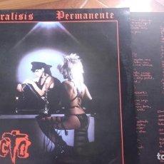 Discos de vinilo: PARALISIS PERMANENTE. Lote 118475691