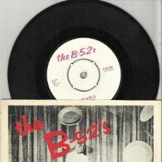Discos de vinilo: THE B-52'S SINGLE ROCK LOBSTER - 52 GIRLS 1978. Lote 118483727
