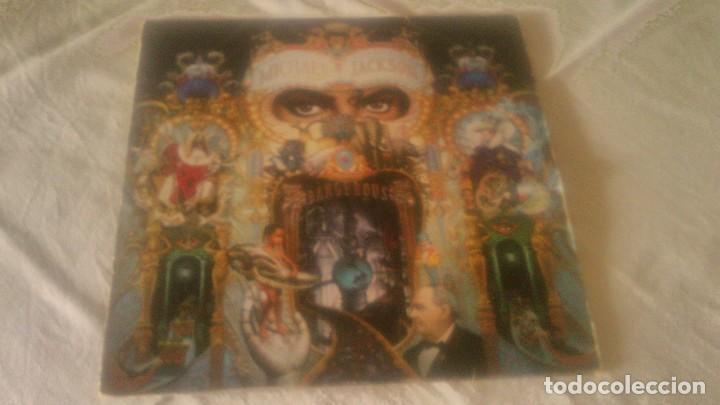 MICHAEL JACKSON - DANCEGEROUS. INDUGRAF MADRID S.A..ALCORCON MADRID,1991.2 LPS (Música - Discos - LP Vinilo - Pop - Rock Extranjero de los 90 a la actualidad)