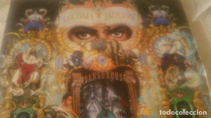 Discos de vinilo: Michael jackson - dancegerous. indugraf madrid s.a..alcorcon madrid,1991.2 lps - Foto 2 - 118502339