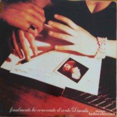 Discos de vinilo: MINA, FINALMENTE HO CONOSCIUTO IL CONTE DRACULA... DOBLE LP ITALIA, 2 DISCOS. Lote 118512923