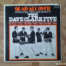 Discos de vinilo: THE DAVE CLARK FIVE – GLAD ALL OVER - 1° LP USA 1964 - CARPETA VG+ VINILO VG. Lote 118518231
