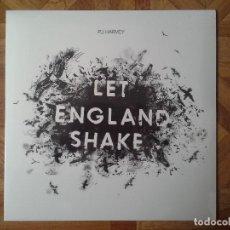 Discos de vinilo: PJ HARVEY - LET ENGLAND SHAKE - LP 2011 WINNER OF THE 2011 MERCURY MUSIC PRIZE - PRECINTADO. Lote 118524231
