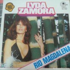 Discos de vinilo: LYDA ZAMORA RIO MAGDALENA DISCO PROMOCIONAL. Lote 118526095
