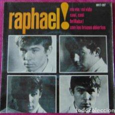 Discos de vinilo: RAPHAEL - MA VIE + 3 - EP. Lote 118527819