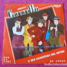 Discos de vinilo: JOHNNY COMOMOLLO Y SUS GANGSTERS DEL RITMO - POR LA CARA - SINGLE PROMO. Lote 118528447
