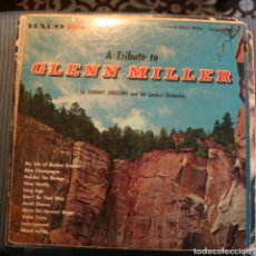 Discos de vinilo: TRIBUTO A GLENN MILLER.. Lote 118531539