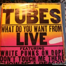 Discos de vinilo: THE TUBES - WHAT DO YOU WANT FROM LIVE - (A&M-1978) ROCK 2LP'S. Lote 118531967