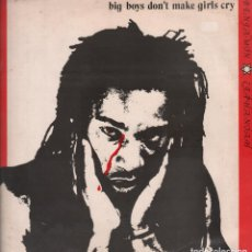 Discos de vinilo: BENJAMIN ZEPHANIAH - BIG BOYS DON´T MAKE GIRLS CRY LP MAXI SINGLE DE 1984 RF-5556. Lote 118534459