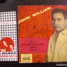 Discos de vinilo: JOHN WILLIAMS- DAY O. EP.. Lote 118548899