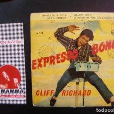 Discos de vinilo: CLIFF RICHARD- EXPRESSO BONGO. EP. Lote 118549423