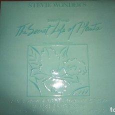 Discos de vinilo: STEVIE WONDER'S - THE SECRET LIFE OF PLANTA - LP DOBLE. Lote 118555827