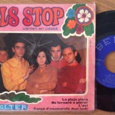 Discos de vinilo: ELS STOP EP CANTEN EN CATALA BELTER. Lote 118564935