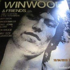 Discos de vinilo: STEVE WINWOOD & FRIENDS LP - EDICION U.S.A. - SPRING BOARD RECORDS 1973 - STEREO -. Lote 118571407