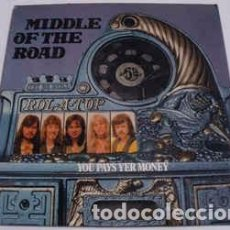 Discos de vinilo: MIDDLE OF THE ROAD - YOU PAYS YER MONEY AND YOU TAKES YER CHANCE (LP, ALBUM, GAT) LABEL:ARIOLA CAT#. Lote 118571563