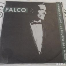 Discos de vinilo: FALCO - VIENNA CALLING 86 TOURIST SAX MIXES. Lote 118571943