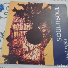 Discos de vinilo: SOUL II SOUL - JUST RIGHT. Lote 118572563