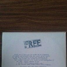 Discos de vinilo: FREE LIVE. 1.971.. Lote 118573908
