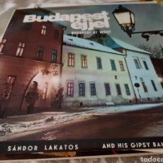 Discos de vinilo: BUDAPEST ÉJJEL. BUDAPEST ST NIGHT. Lote 118575563