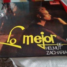 Discos de vinilo: VINILO LO MEJOR DE HELMUT ZACHARIAS. Lote 118576024
