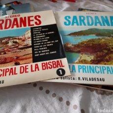 Discos de vinilo: LOTE 2 VINÍLOS COBLA PRINCIPAL DE LA BISBAL. Lote 118576668