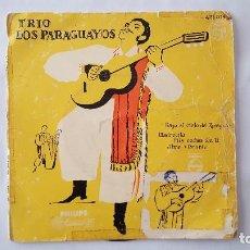 Discos de vinilo: EP - TRIO LOS PARAGUAYOS - BAJO EL CIELO DE PARAGUAY +3 - PHILIPS 421 014 PE - 1961. Lote 118577327
