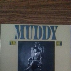 Discos de vinilo: MUDDY WATERS. KING BEE 1.981.. Lote 118577395