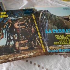 Discos de vinilo: LOTE 2 VINILOS EL CANTAR DEL ARRIERO Y LA PARRANDA. Lote 118577396