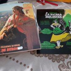 Discos de vinilo: LOTE 2 VINÍLOS LA PÍCARA MOLINERA Y LA DEL SOTO DEL PARRAL. Lote 118577775