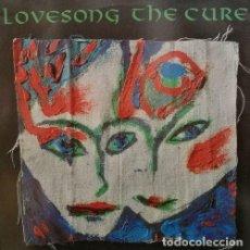 Discos de vinilo: THE CURE - LOVESONG - MAXI SINGLE DE VINILO EDICION ESPAÑOLA. Lote 118583067