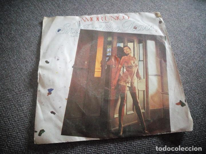Discos de vinilo: Sniff 'n' the Tears ?– Amor Unico = One Love.1980,made in spain. - Foto 1 - 118585847