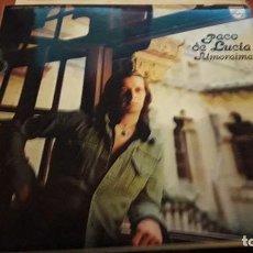 Discos de vinilo: PACO DE LUCÍA. ALMORAIMA. EDICIÓN FONOGRAM DE 1976. PORTADA DOBLE. Lote 118587131