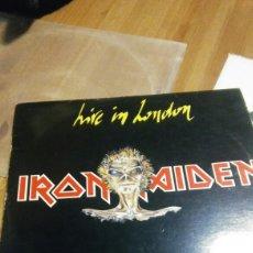 Discos de vinilo: IRON MAIDEN LIVE IN LONDON VINILO. Lote 118588962