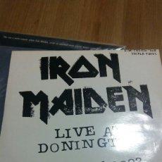 Discos de vinilo: IRON MAIDEN VINILO TRIPLE LIVE AT DONNINTONG. Lote 118589067