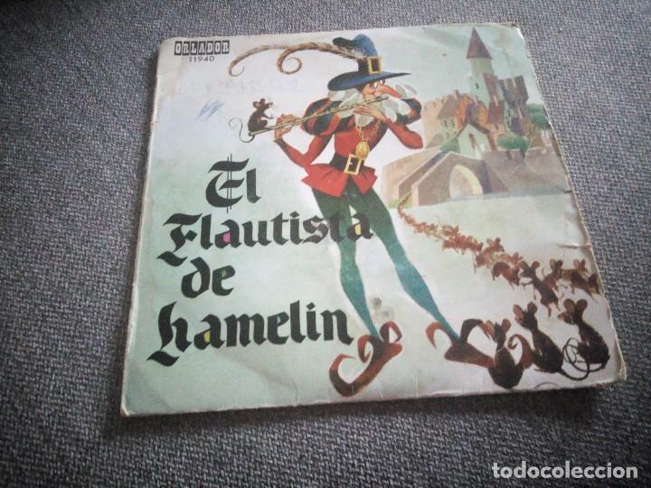 EL FLAUTISTA DE HAMELIN, ORLADOR. EDICIÓN ESPECIAL PARA SUSCRIPTORES DEL CIRCULO DE LECTORES. (Música - Discos - Singles Vinilo - Música Infantil)