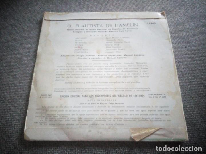 Discos de vinilo: El Flautista de Hamelin, Orlador. Edición especial para suscriptores del Circulo de Lectores. - Foto 2 - 118589851