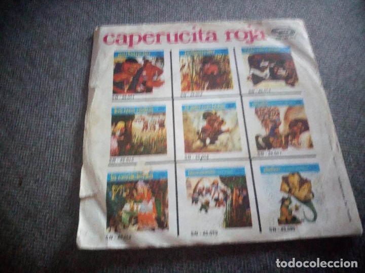 Discos de vinilo: Teatro Infantil Samaniego ?– Caperucita Roja,1970 - Foto 2 - 118591807