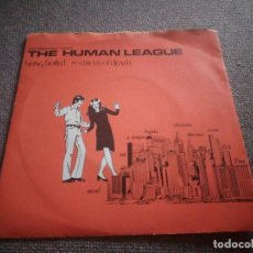 Discos de vinilo: THE HUMAN LEAGUE ?– BEING BOILED / CIRCUS OF DEATH,1978. Lote 135721837